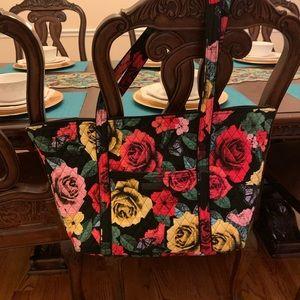 Large Vera Bradley Havana Tote/Overnight Bag